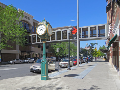 Street in Spokane Washington