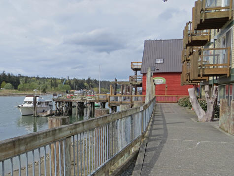Swinomish Channel in Washington State